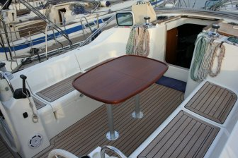 cockpit table oceanis 473 sale